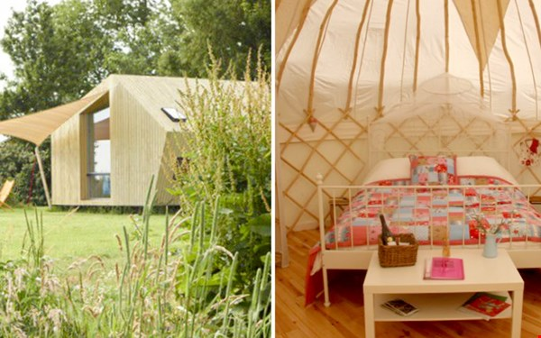 It dreamlan en Yurt Frankrijk